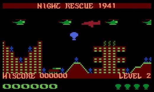 NIGHT RESCUE 1941 – Nová hra pro Atari 8-Bit