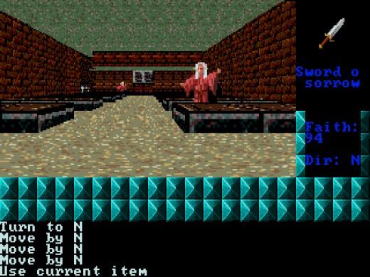 Dungeons of Noudar 3D, RPG novinka pro DOS