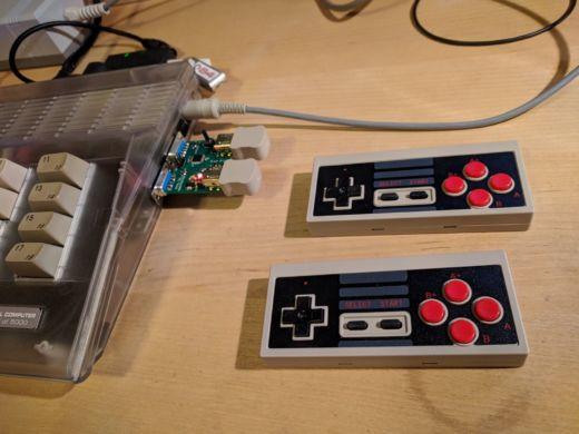 Nunchuk64: připojte ovladače od Nintenda Wii k C64