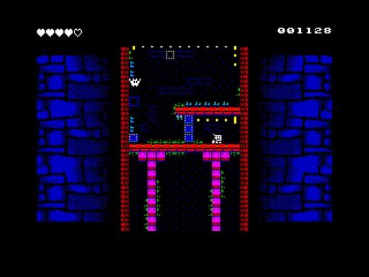 Old Tower, nová akční hlavolamka pro ZX Spectrum