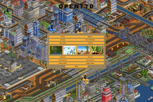 OpenTTD v nové verzi a také na Steamu