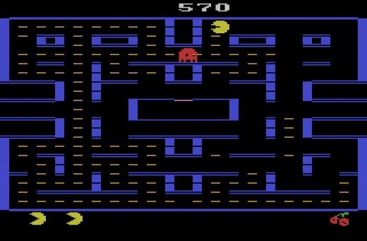 Nový Pac-Man pro Atari 2600, starší Pac-Man pro IBM PC