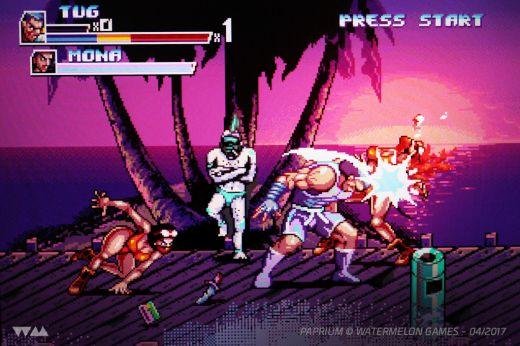 Paprium, nová bojovka pro SEGA Mega Drive