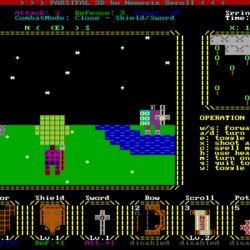 Parsifal 3D - ASCII artové jakože retro