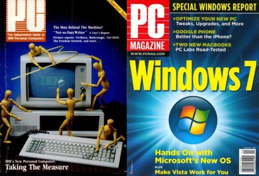Časopis PC Magazine je na Knihách Google i Archive.org