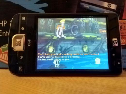 Retroherní potenciál starých Pocket PC / PDAček