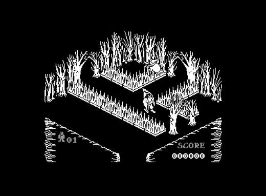 Pentagram, izometrická klasika ze ZX Spectra, přeportován na C64