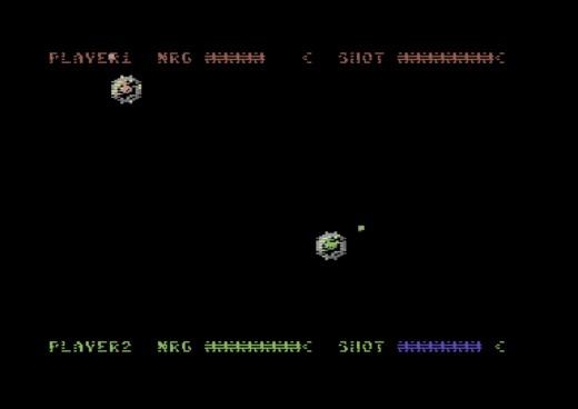 Phantom of the Blasteroids, akční řežba pro 2 hráče (C64)