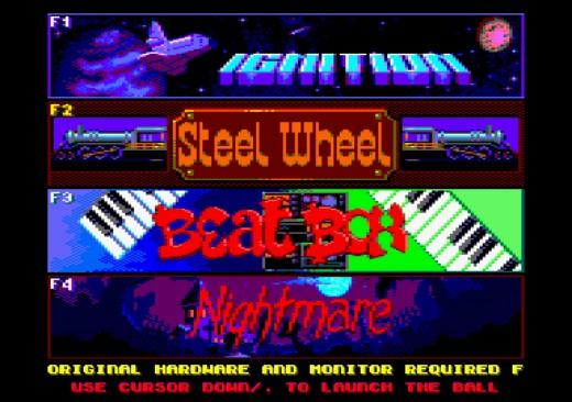 Vyšla plná verze Pinball Dreams CPC pro osmibity Amstrad