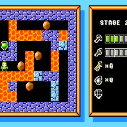Plutonium Caverns, zbrusu nová hlavolamka pro DOS!