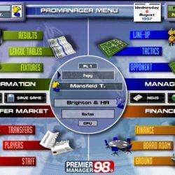 Premier Manager 98 - fotbalový Olymp čeká