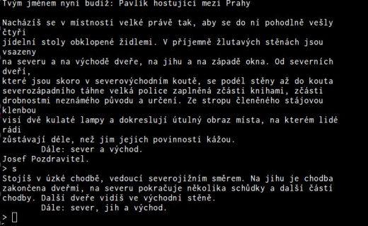 Screenshot MUDu Prahy
