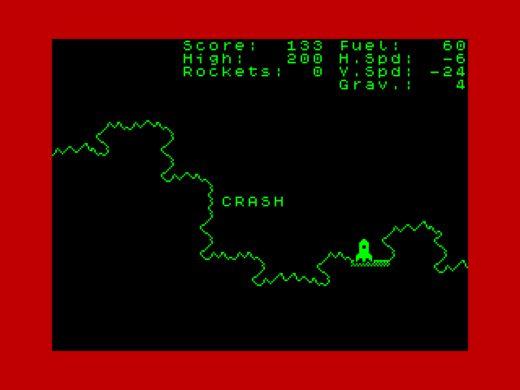 Project: RE.VE.LA.TION, nový Lunar Lander pro ZX Spectrum