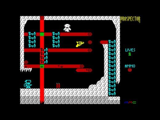 Prospector, novinka pro ZX Spectrum