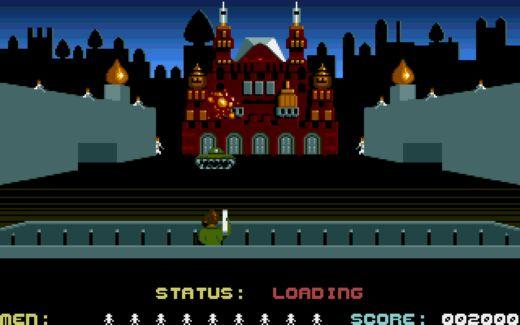 Raid Over Moscow, port osmibitové klasiky na Amigu
