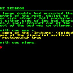 Ramsbottom Smith & the Quest for the Yellow Spheroid, nová textovka pro ZX Spectrum