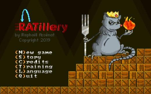 Ratillery, nová hra pro DOS na Kickstarteru