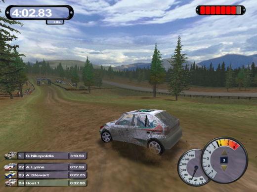 6x Škoda Felicia Kit Car ve starých rally hrách