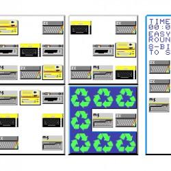 Recycler, nová hra pro Sharp MZ-800