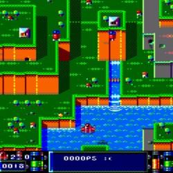 Red Sunset, demo nové střílečky pro Amstrad CPC