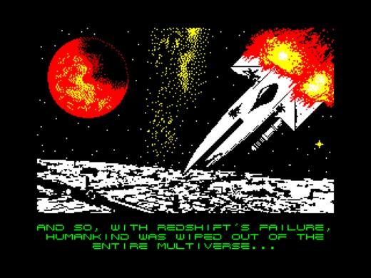 Redshift, lahůdková shmup pro ZX Spectrum