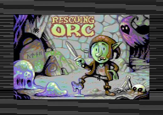 Rescuing Orc, novinka pro Commodore 64