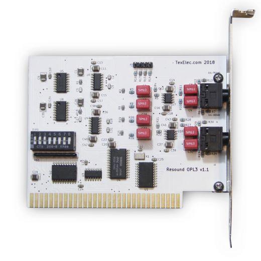 Resound OPL3, čtyřkanálová 8bit ISA zvukovka s OPL3