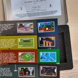 Obrazem: retro poštovní známky od Royal Mail