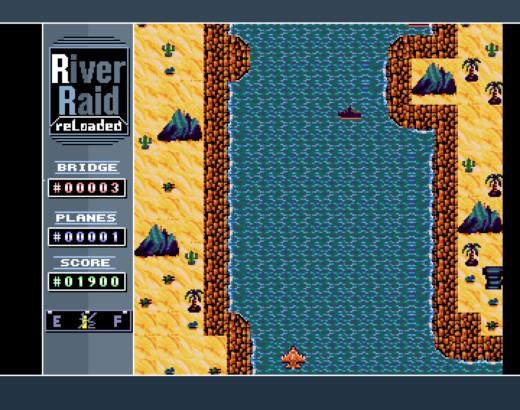 River Raid Reloaded, novinka pro Amigy