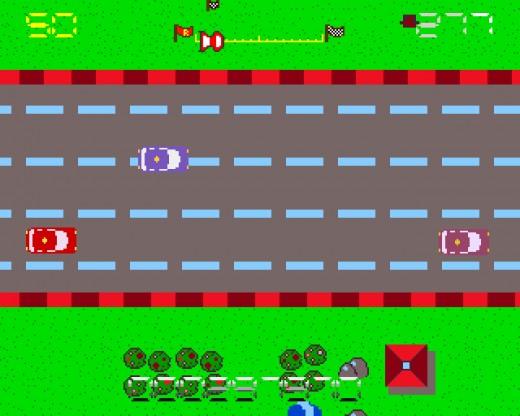 Roadtrip, závodní novinka pro Amigu