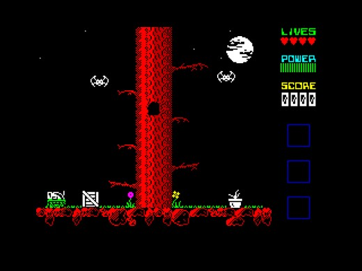 Robot 1 in … THE PLANET OF DEATH, nová hra pro ZX Spectrum