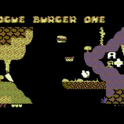 Rogue Burger One, bludišťovka pro Commodore 64