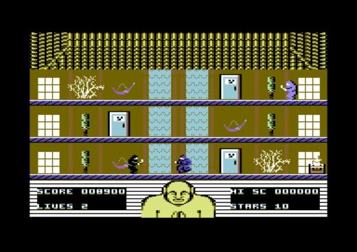 Rogue Ninja, bojovka pro Commodore 64