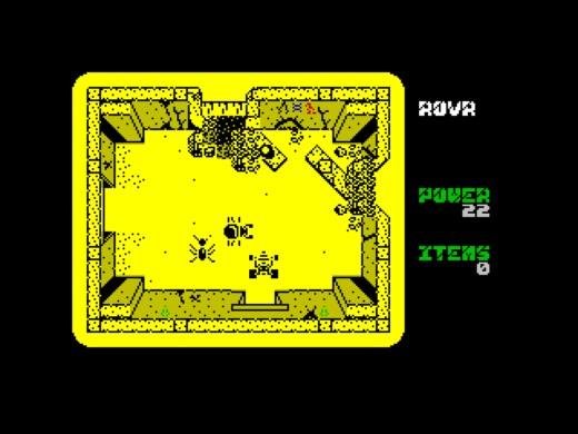 ROVR, novinka pro ZX Spectrum