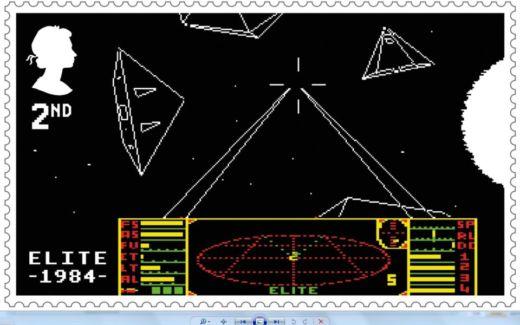 Královská pošta vydala edici známek s videoherními motivy