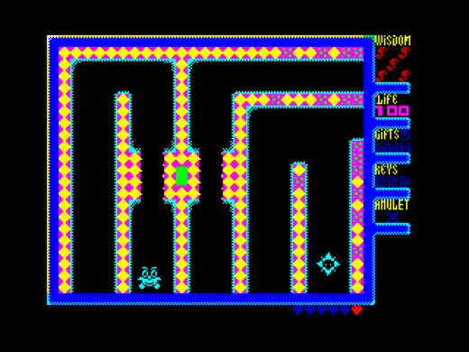 Rubicon – Run the Maze, novinka pro ZX Spectrum
