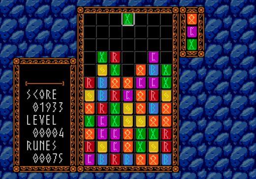 Runes, variace na Columns (SEGA Mega Drive)