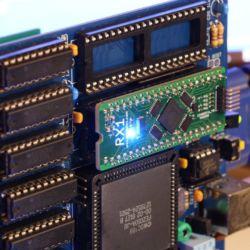 """RX1, FPGA """"turbokarta"""" pro PC XT"""