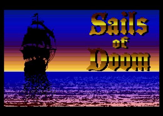 Sails of Doom, námořní řež až pro 8 hráčů (Atari XL/XE)