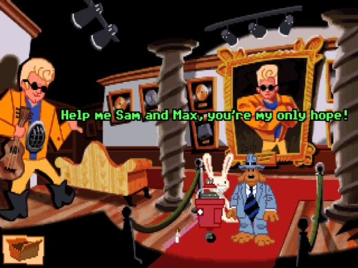 Dohráno: Sam & Max: Hit the Road