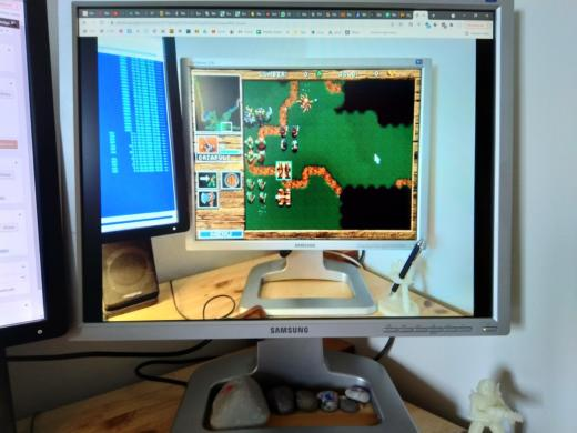 Samsung 214T, vhodný monitor k DosBoxu a starému PC?
