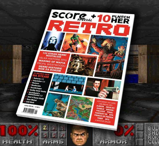 SCORE Retro vyjde 23. května