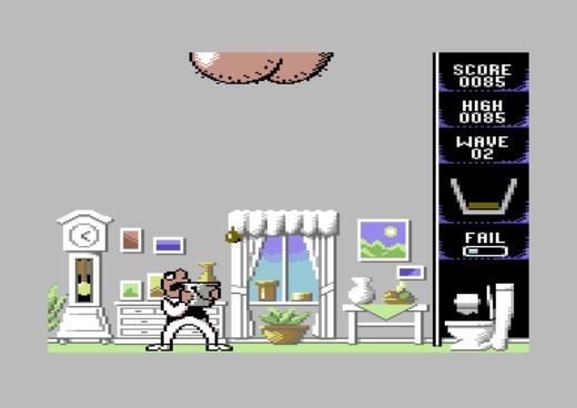 Scuttlebutt a Pooper Scooper, fekální novinky pro ZX Spectrum a Commodore 64
