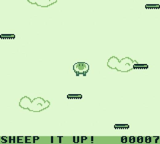 Sheep it Up, nová hříčka pro Game Boy