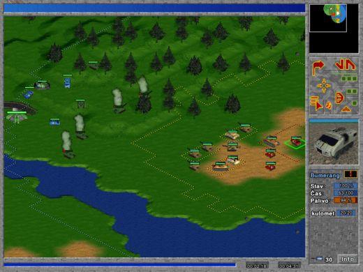 Začátek první mise hry Signus