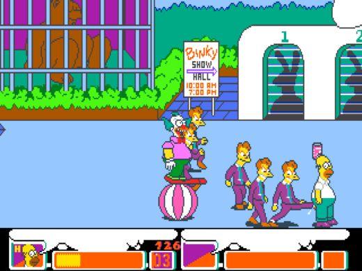 Hráli jste: The Simpsons?