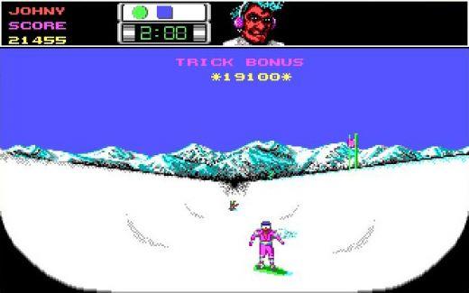 Výzva: snowboard halfpipe ve Ski or Die