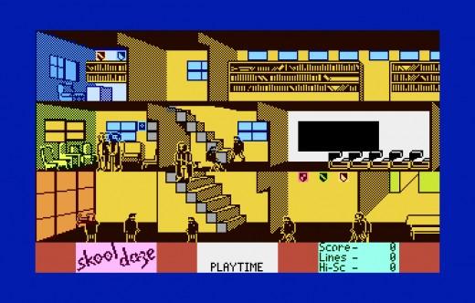 Skool Daze, novinka pro osmibity Atari