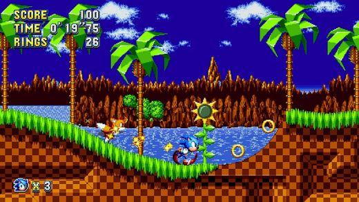 Vyšla Sonic Mania, nová hopsačka s ježkem Sonicem