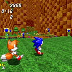 Sonic Robo Blast 2, modrý ježek v Doom enginu